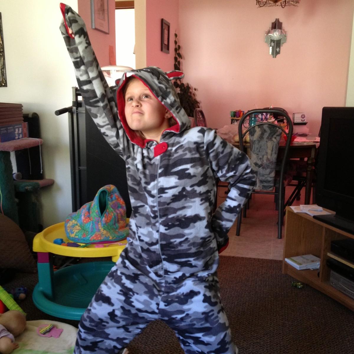 Kids Animal Onesie Pjs: Pajama Party Fun