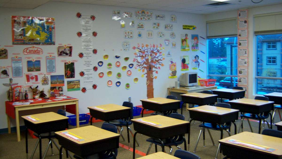 Classrooms can be a great source of anxiety for children who have PDA.
