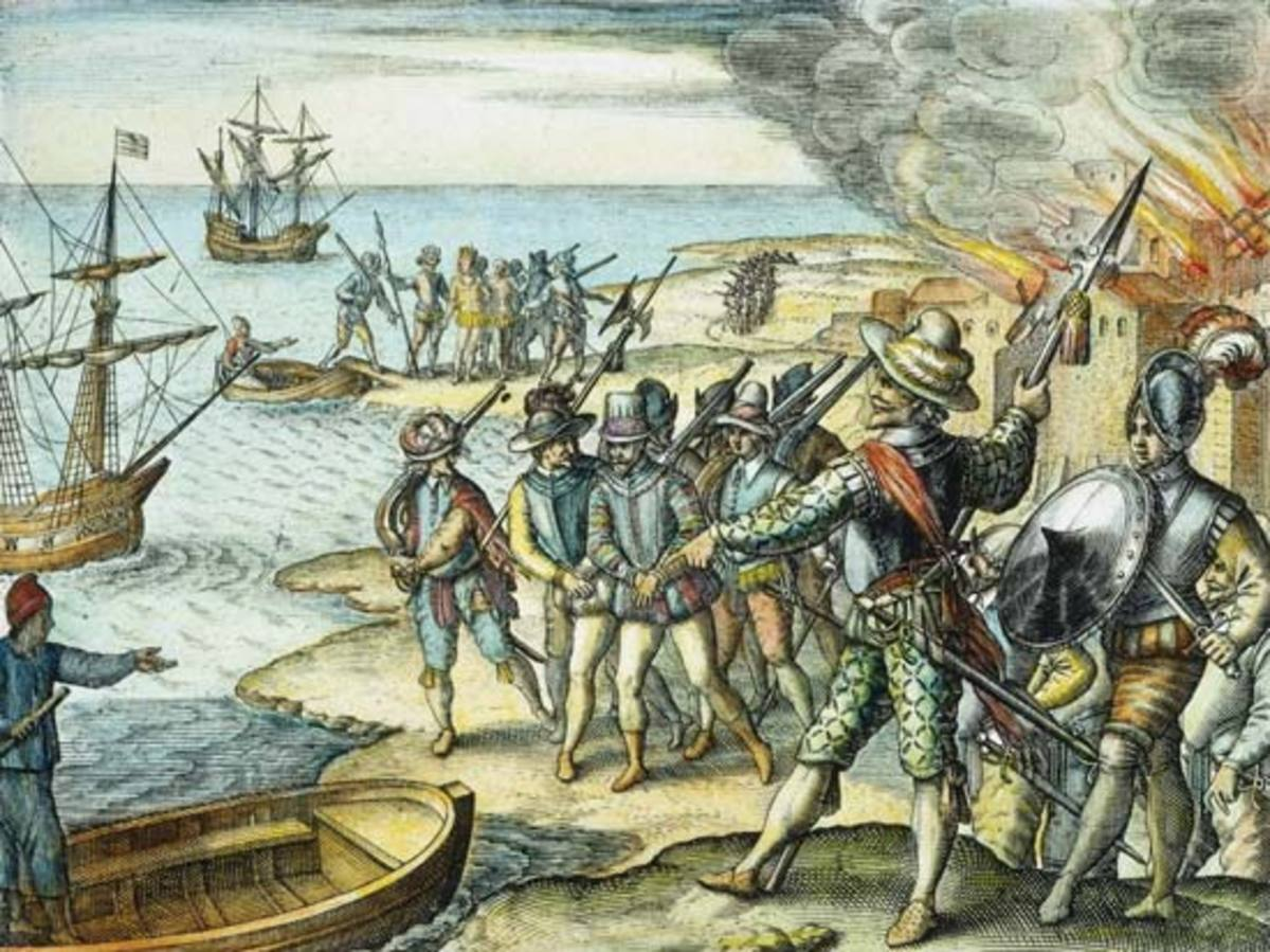 Raleigh, Walter: raid on Trinidad, 1599