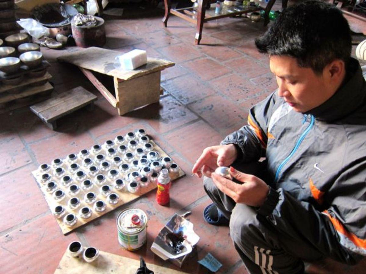 Ha Tai Lacquer Village near Hanoi