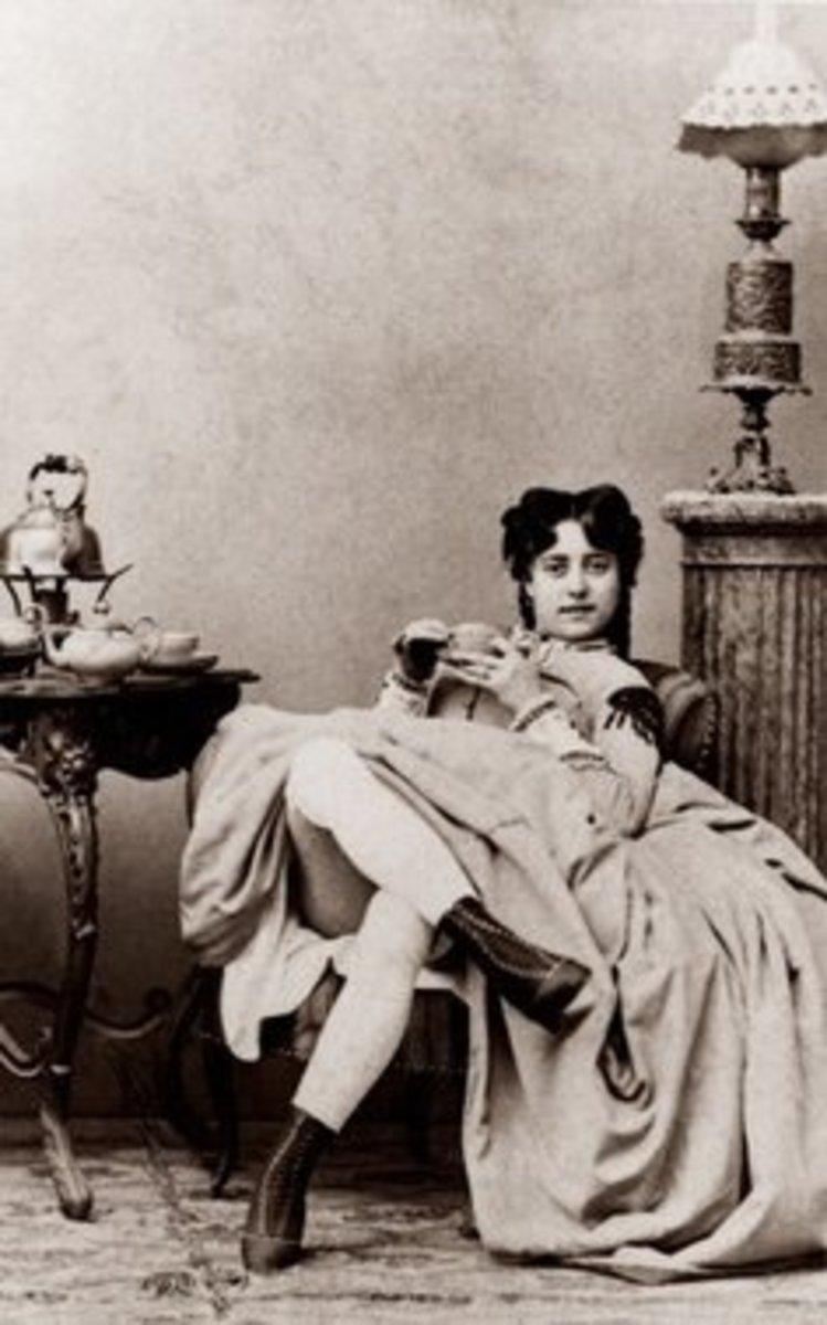 A Civil War-era prostitute