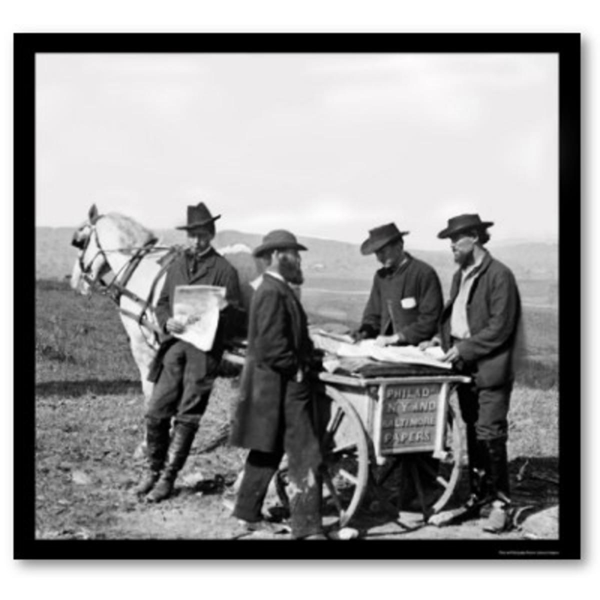 Newspaper deliverymen