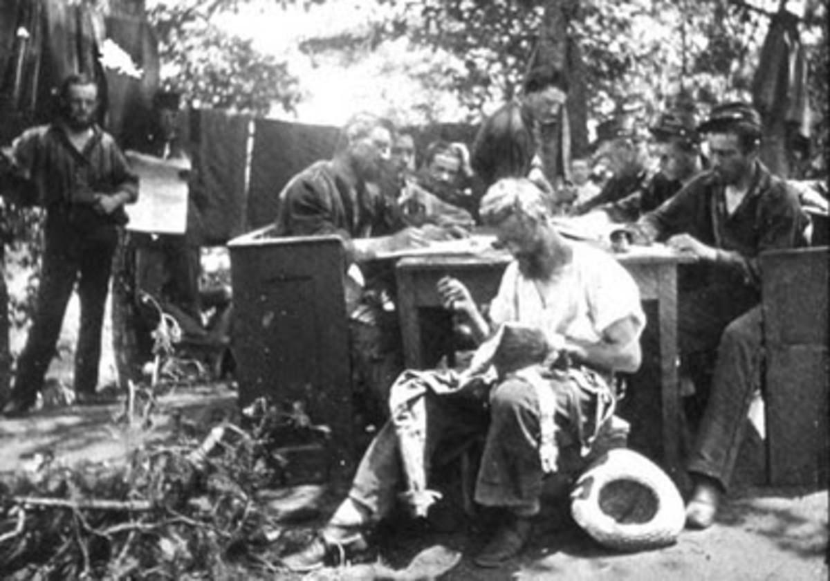 American Civil War Life: Union Infantryman – Life in Camp Ix