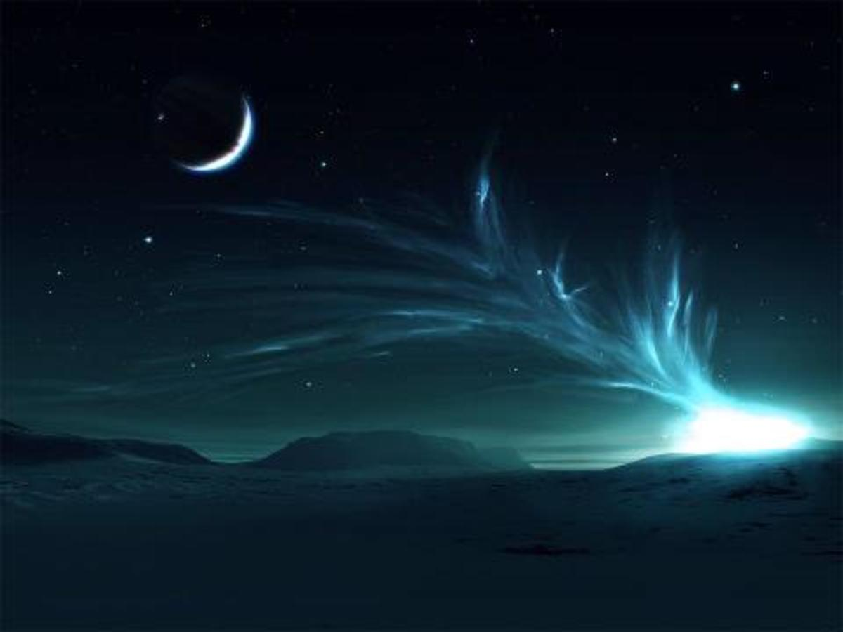 The sky at night. So lovely.