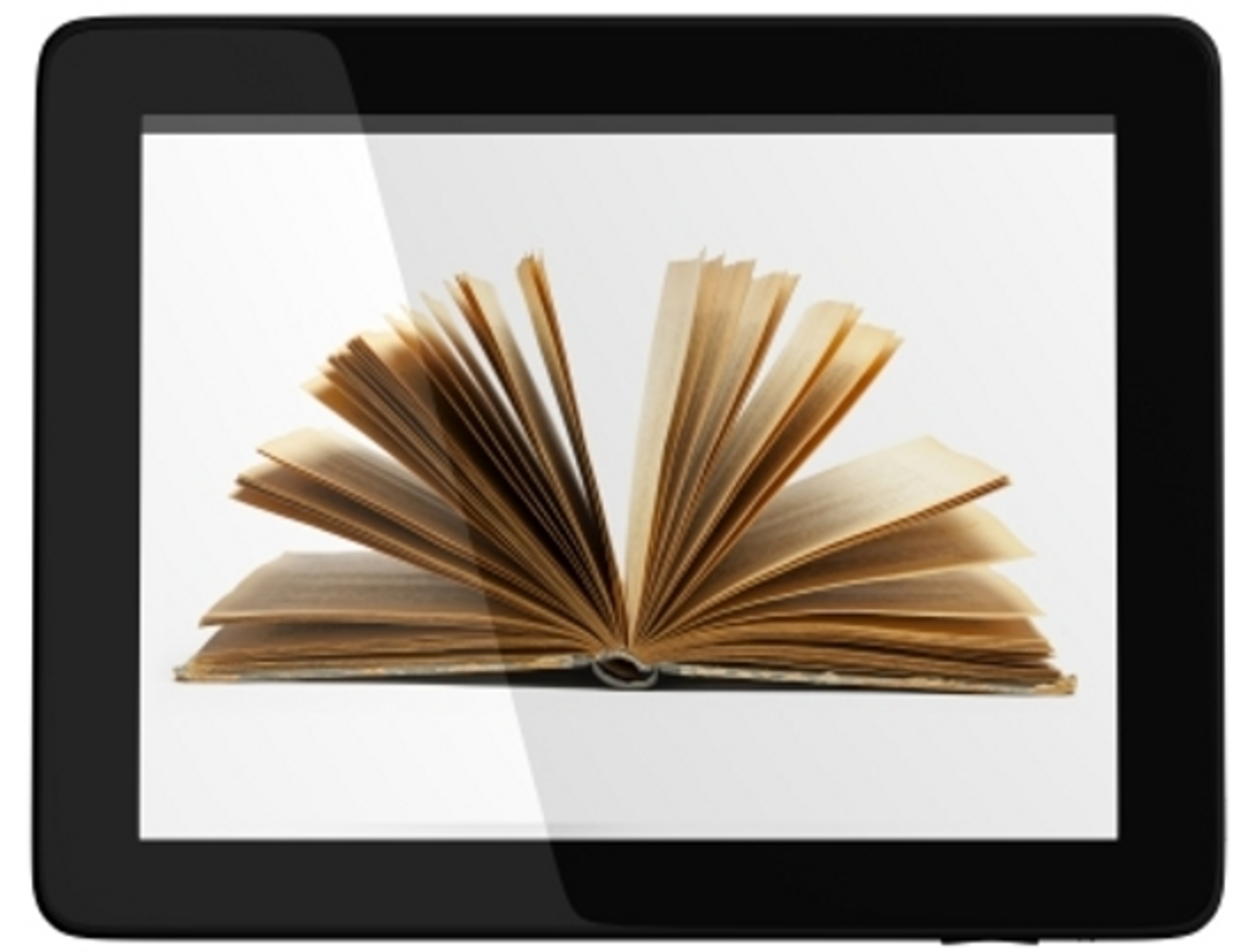 Reading e books on tablets