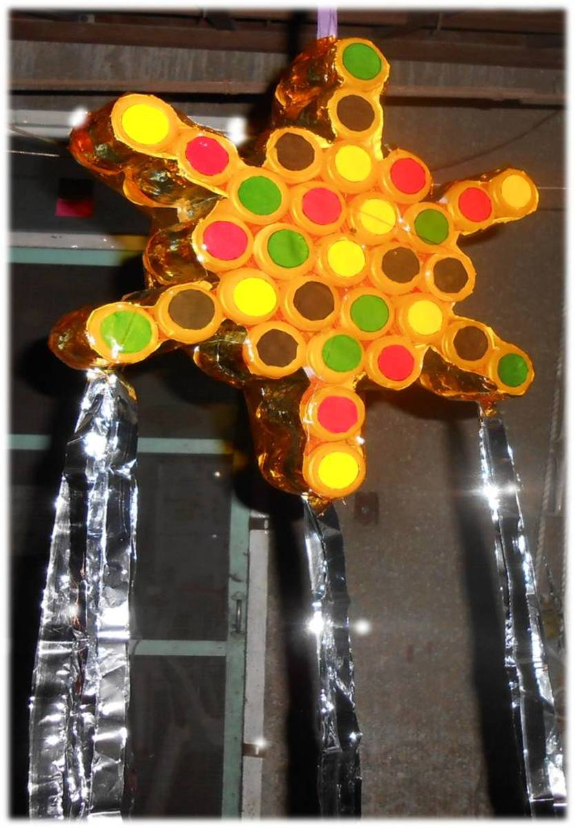 How to Make a Christmas Lantern or Parol Using Recyclable Materials