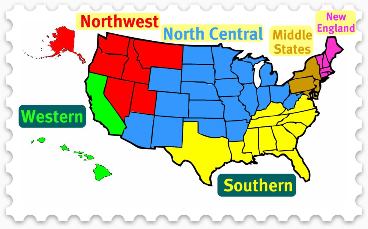 Regional Accreditation Map