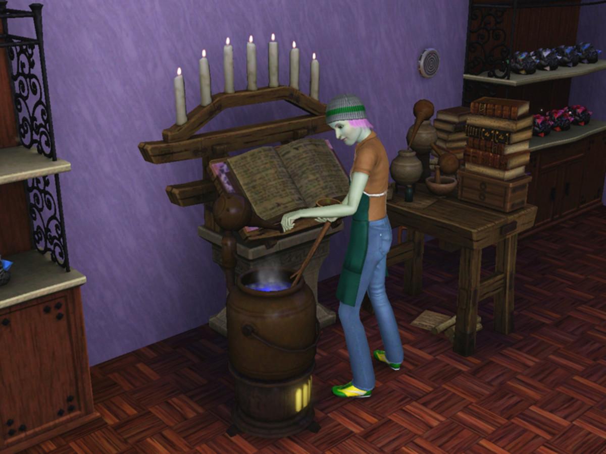 The Sims 3 - The alchemist career