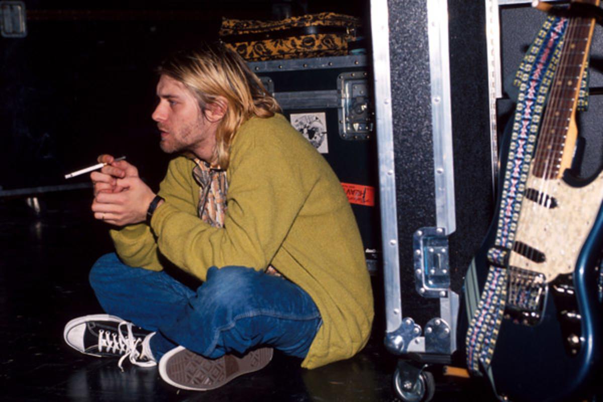 Kurt Cobain Wearing Converse