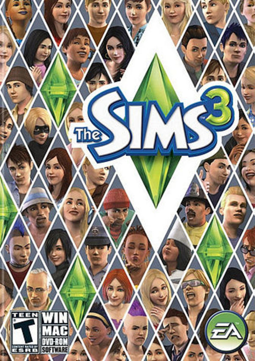 I love life simulation games like The Sims 3.