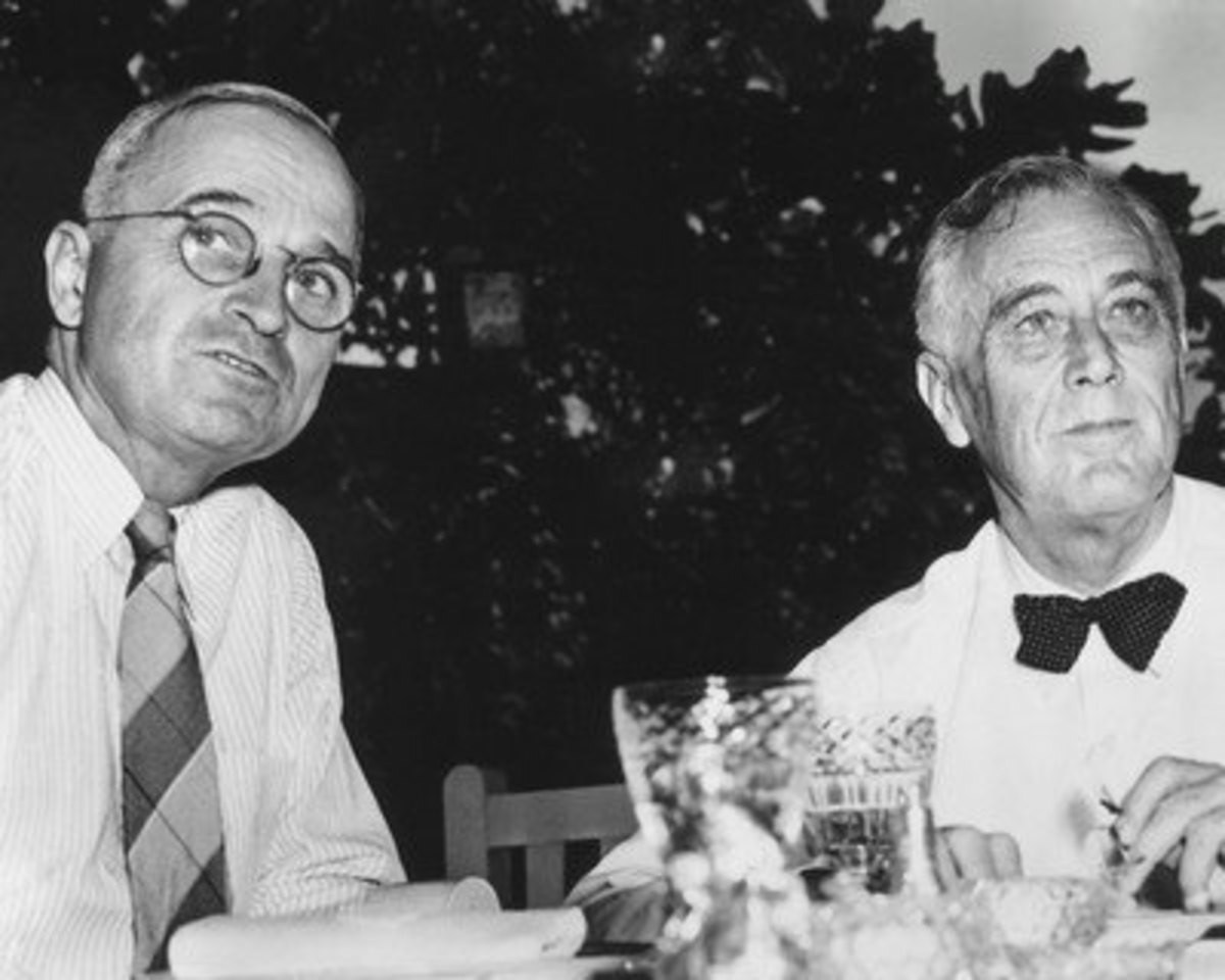 President FDR and VP Harry Truman