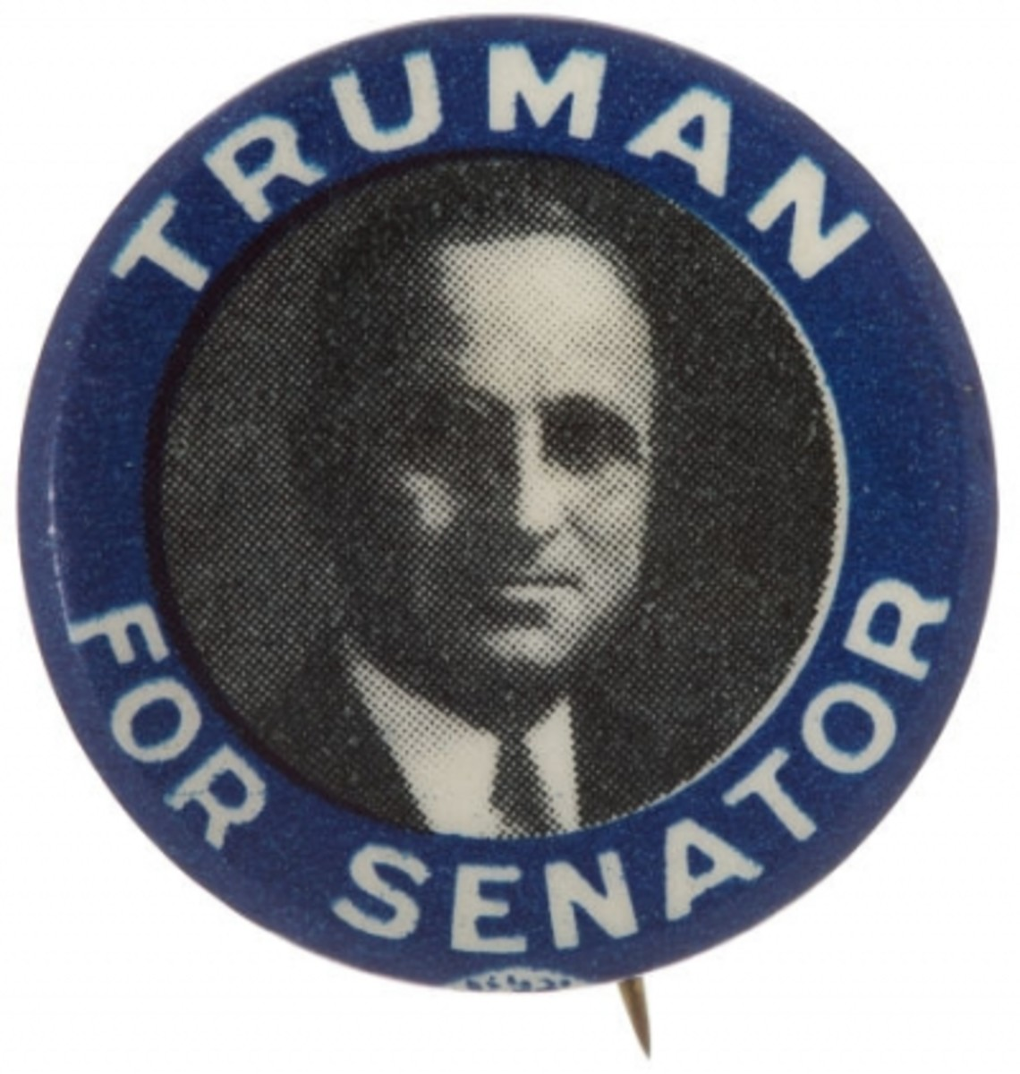 Truman for Senate campaign button