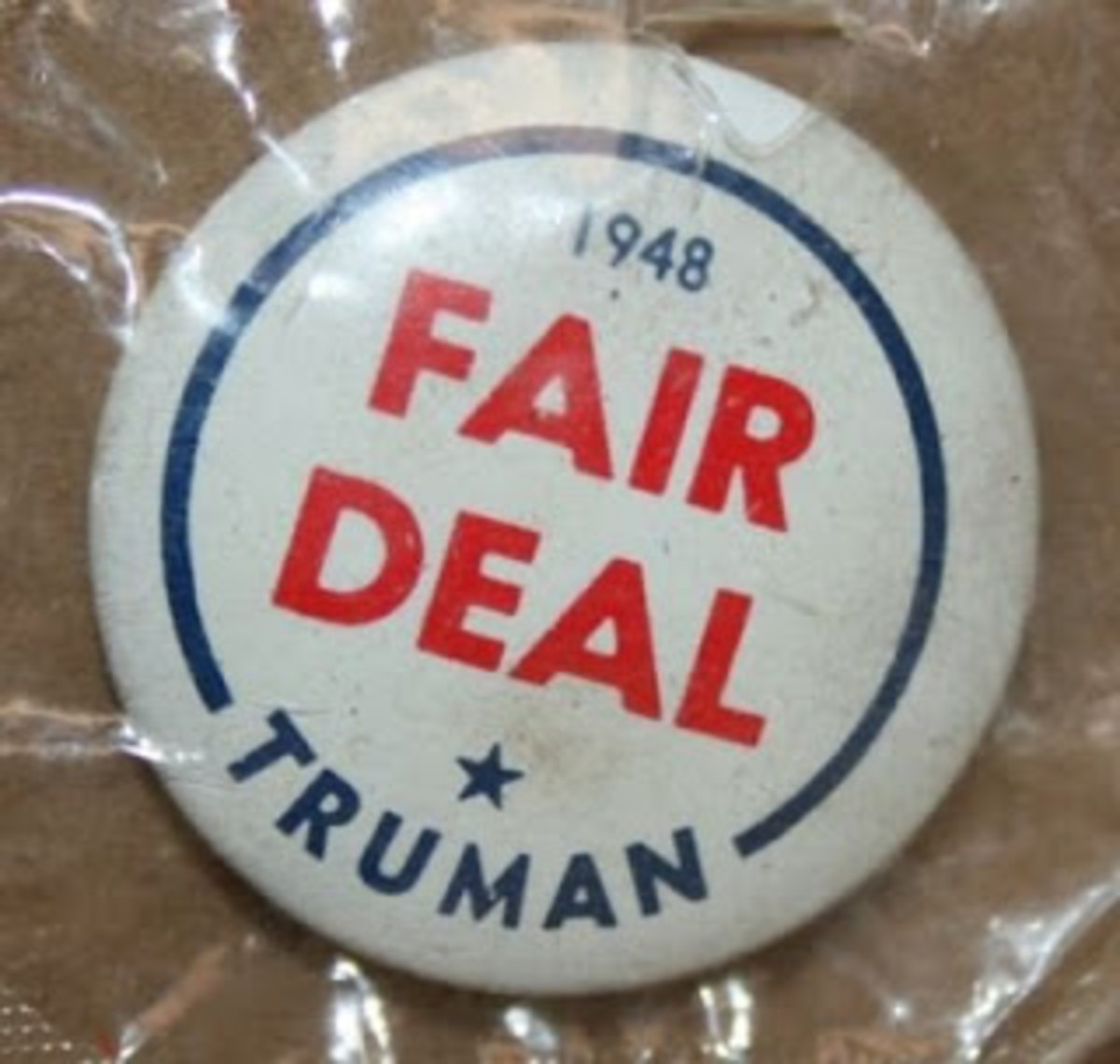 Fair Deal Pin