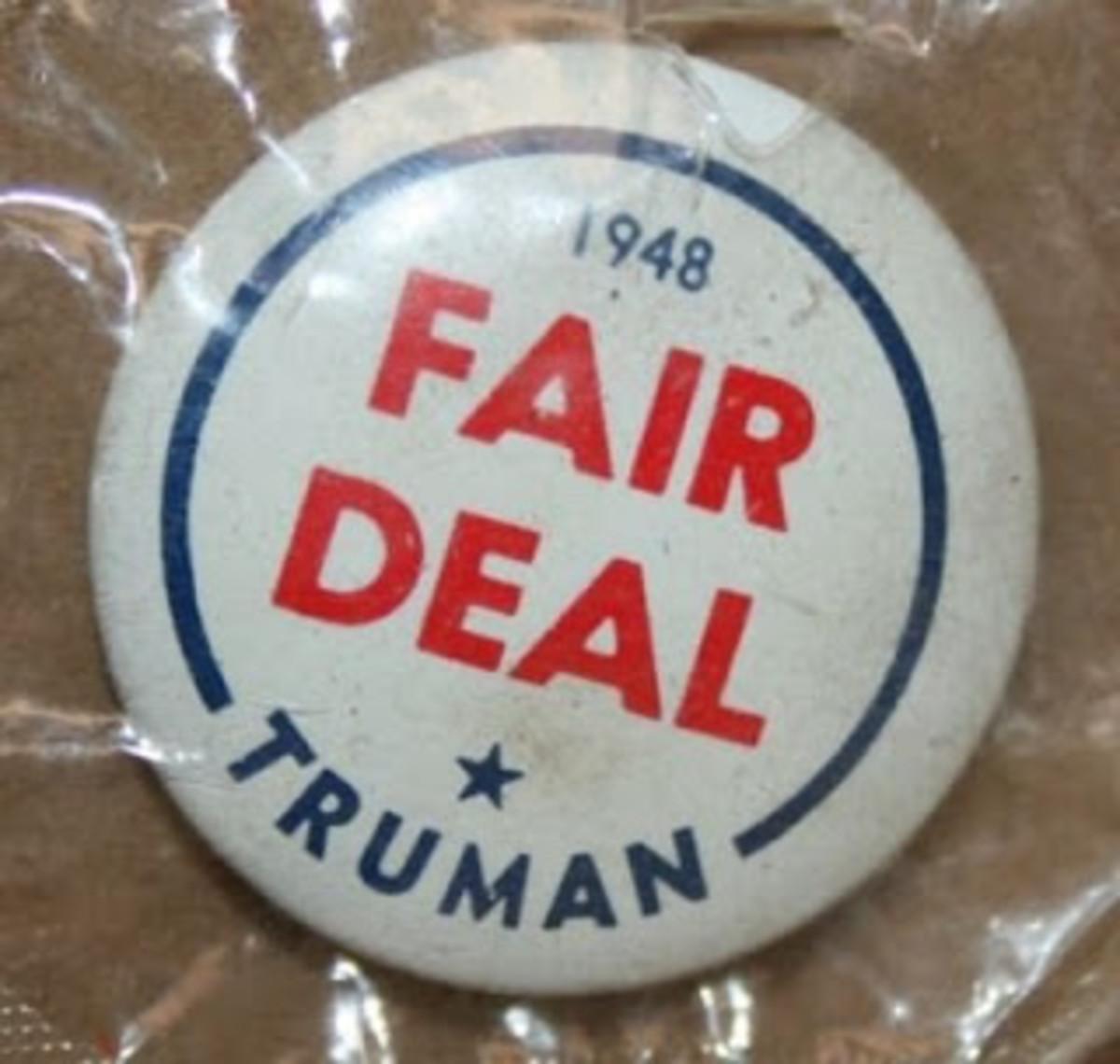 Fair Deal Pin