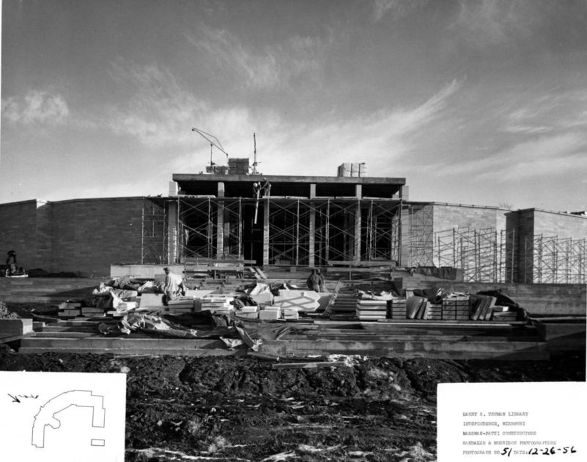 Construction of Truman Library