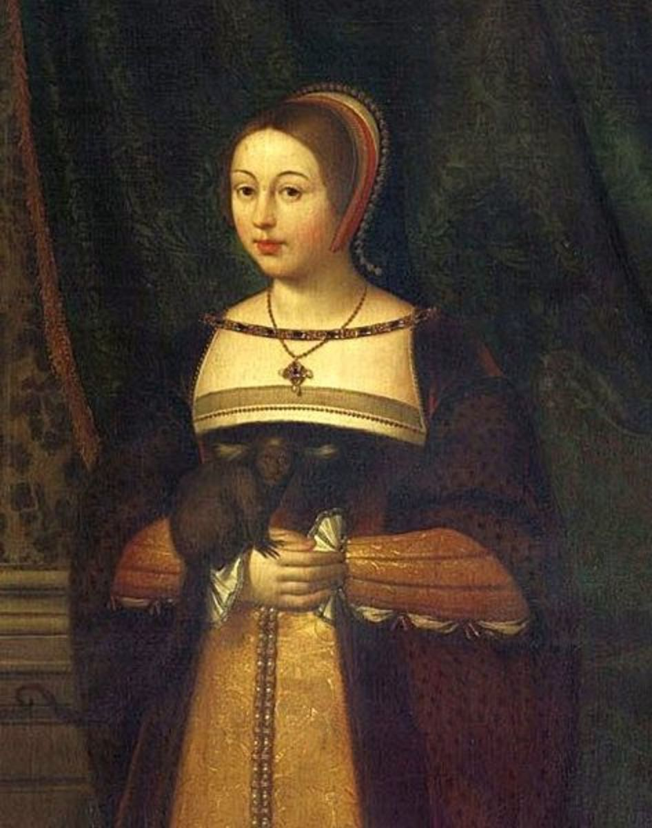 Margaret Tudor was the Queen Consort of Scotland and grandmother of Mary, Queen of Scots.