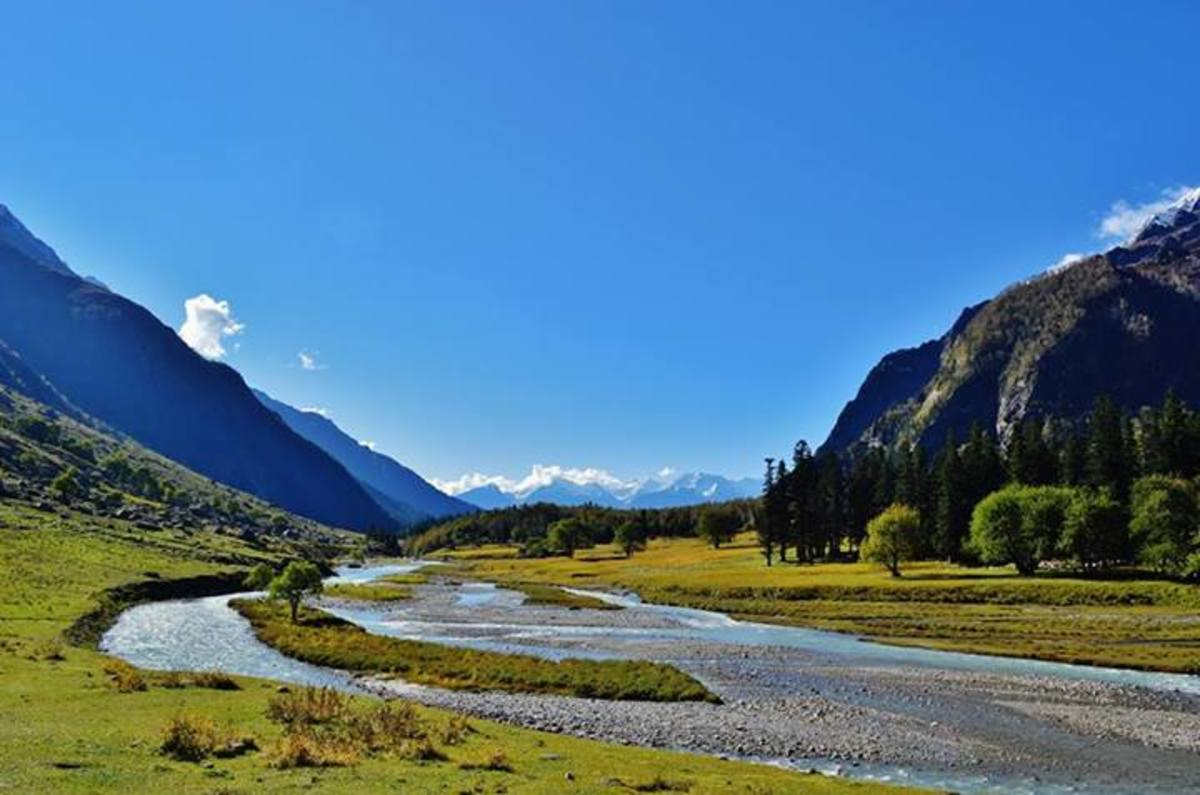 Bhaba Valley in Kinnaur