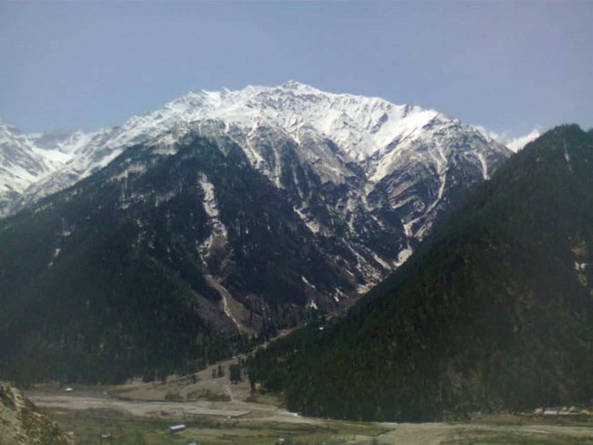 On the way from Sangla to Chitkul