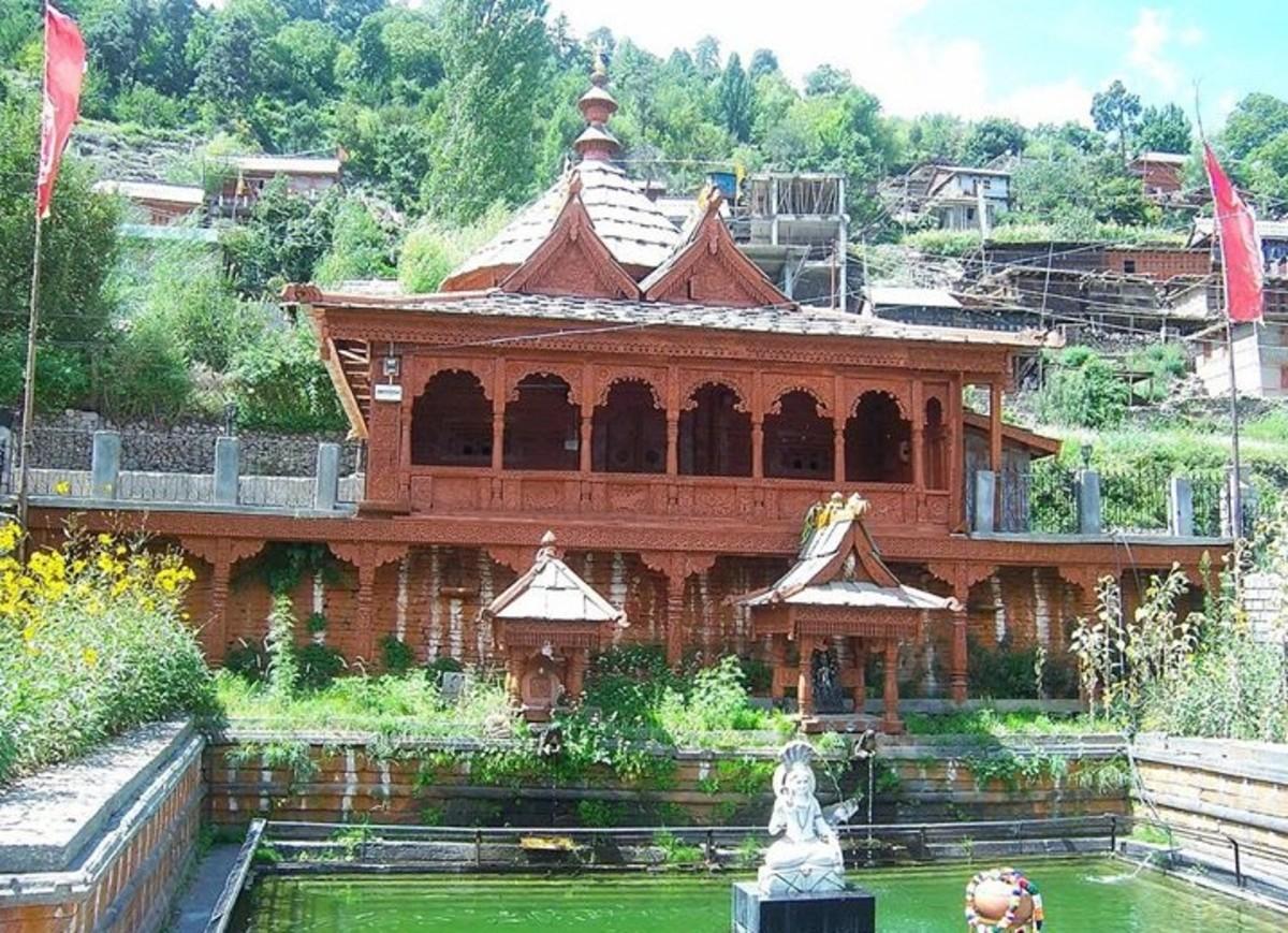 Pandav Temple in Kothi Village at Reckong Peo: