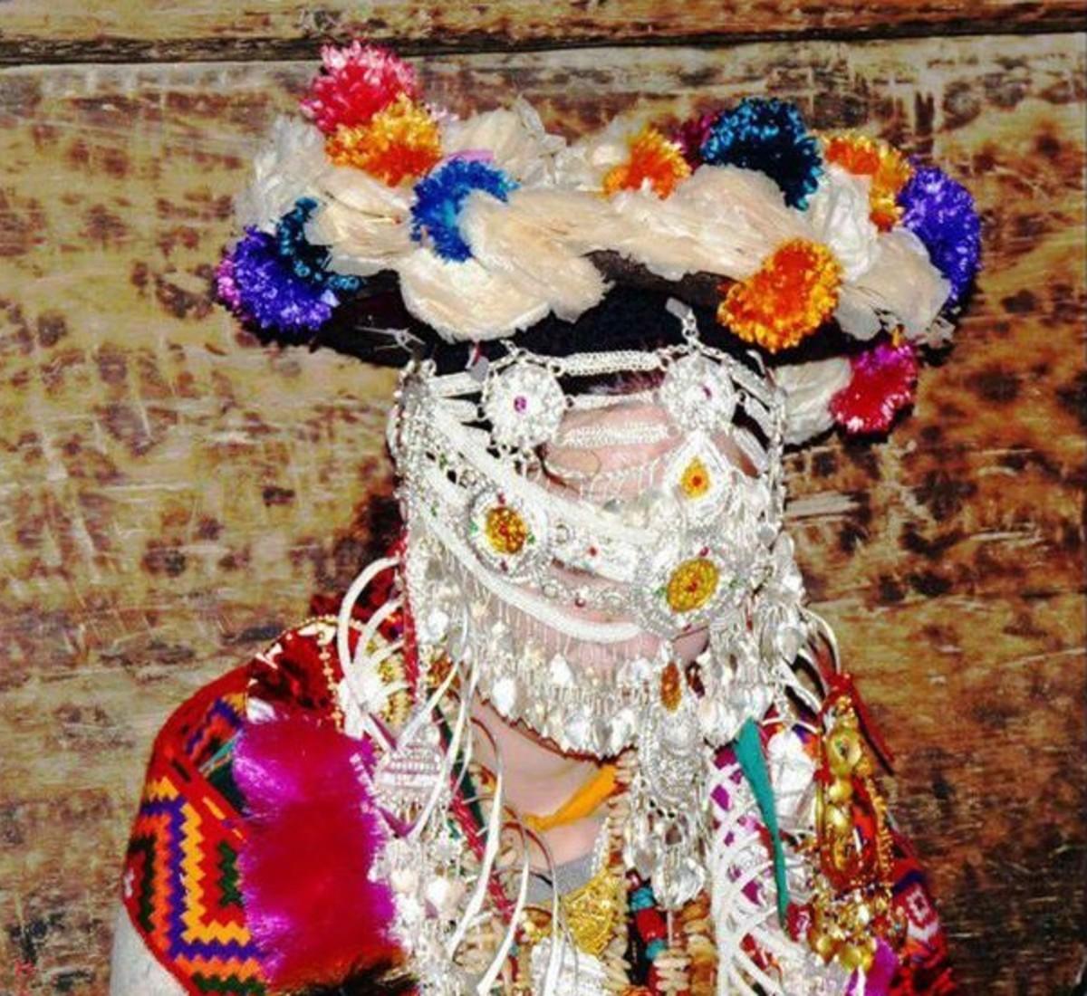 The bride in Kinnaur