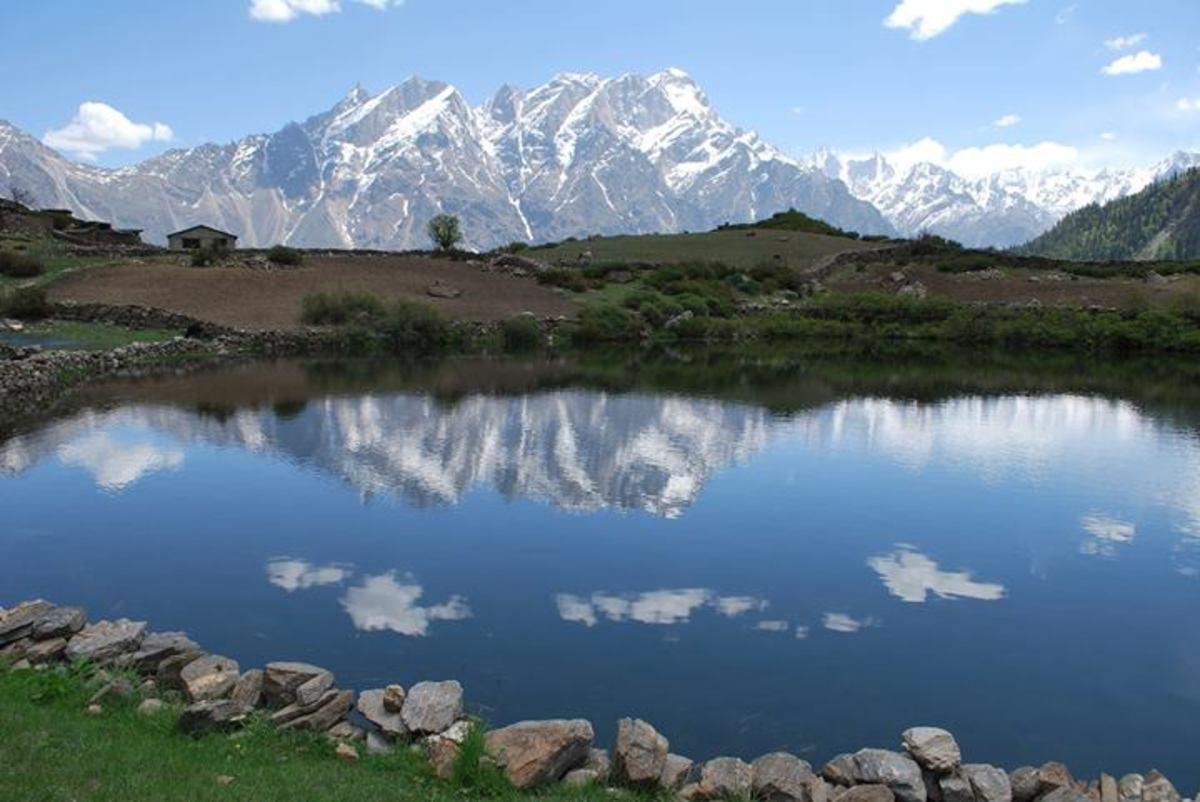 Lake in Sangla