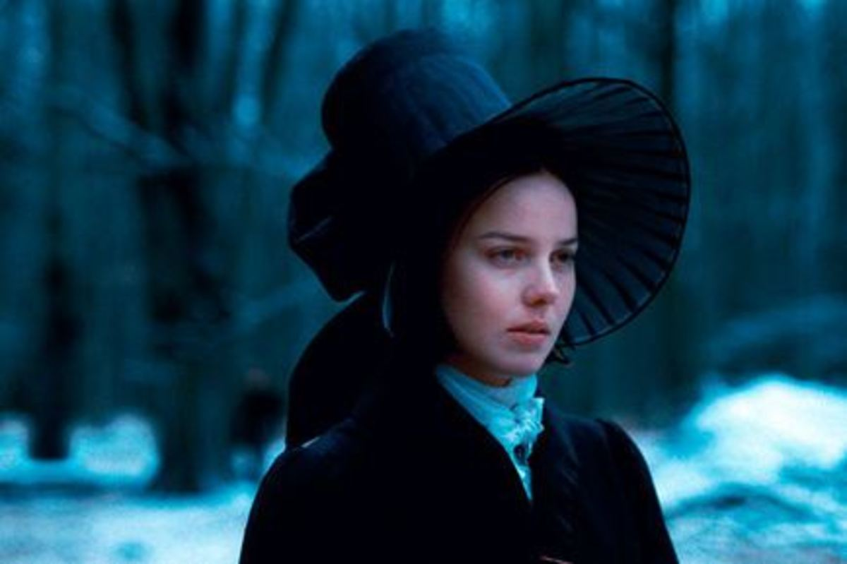 From a film adaptation of Villette.