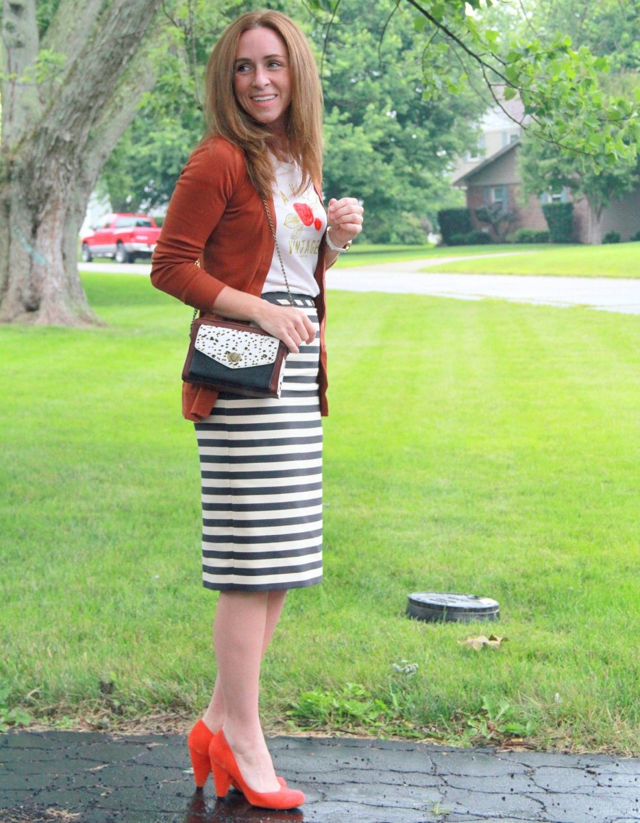 What to wear with pencil skirt