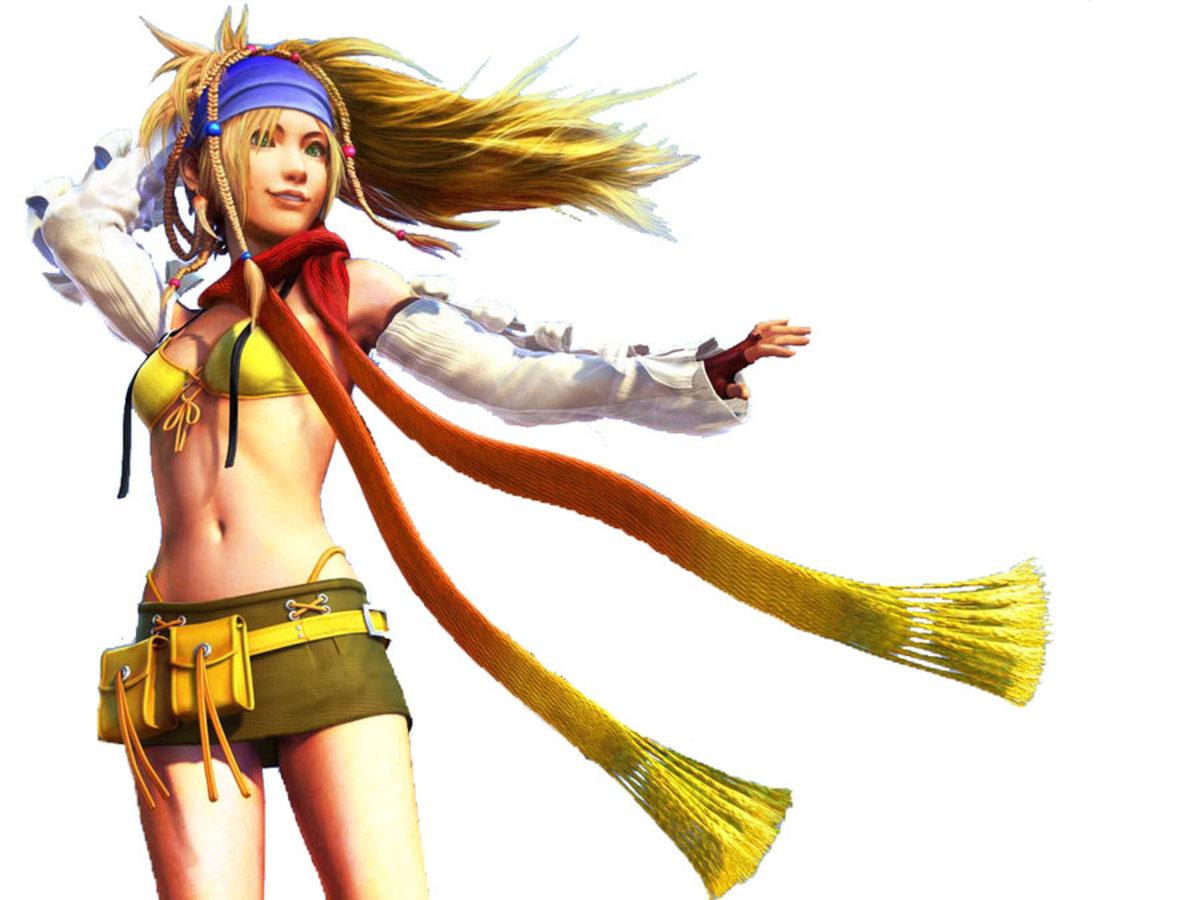 Pic 1: Rikku as a Thief