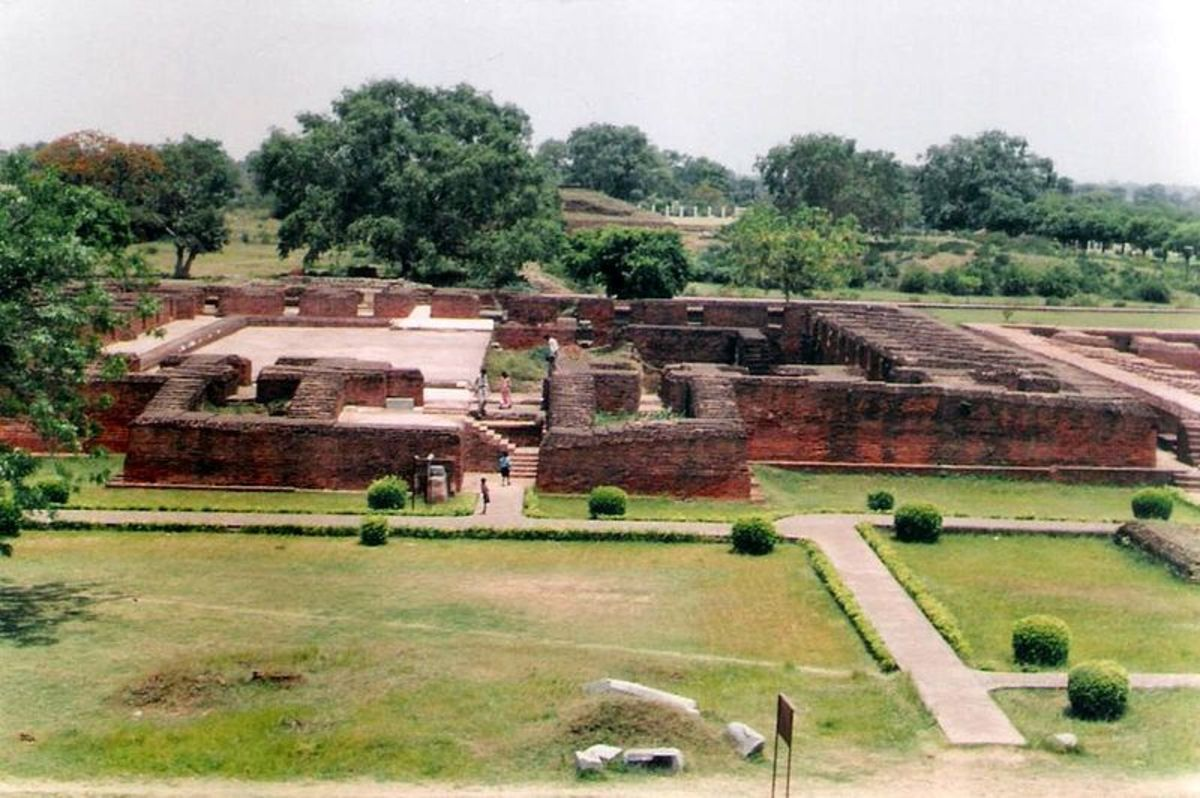 One of the monasteries of Nalanda university