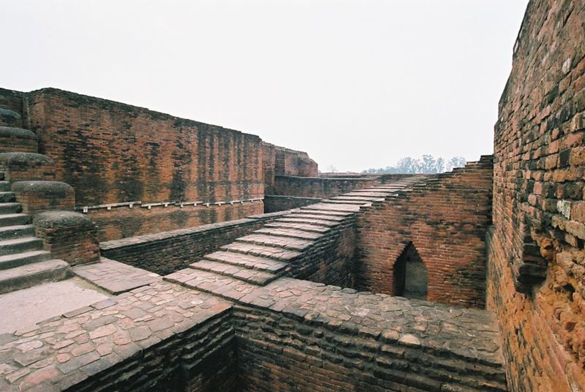 The buddhist University of Nalanda