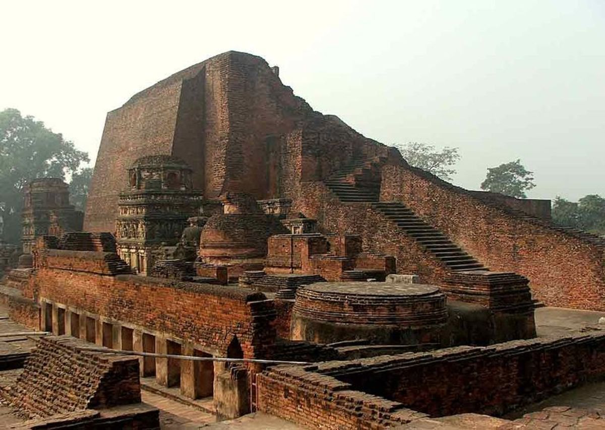 The great library of Nalanda University