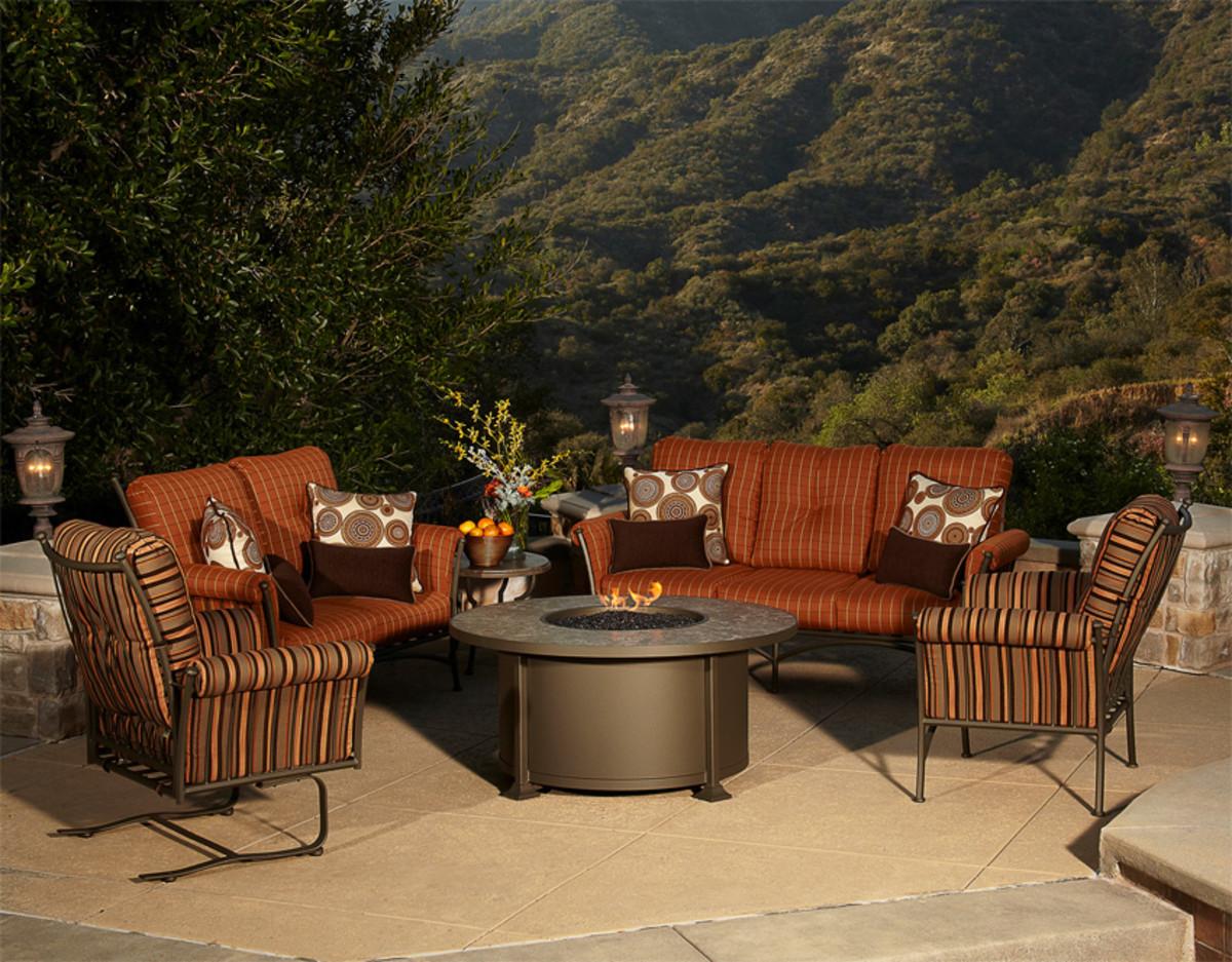 Luxury Fire Pit Set