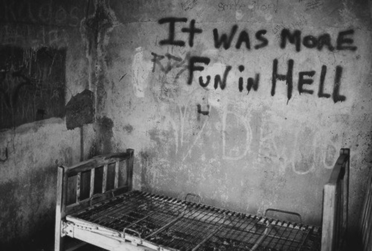 Abandoned Insane Asylums This Photo Says it All