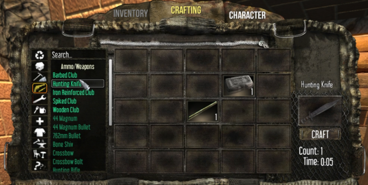 You will need to find the book in order to unlock the Hunting Knife.