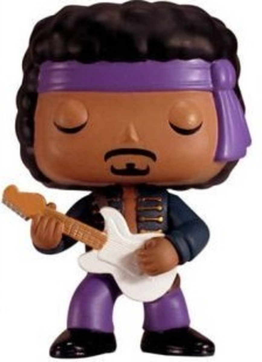 Rock 'n' Roll Toy Figures: Funko Pop Rocks