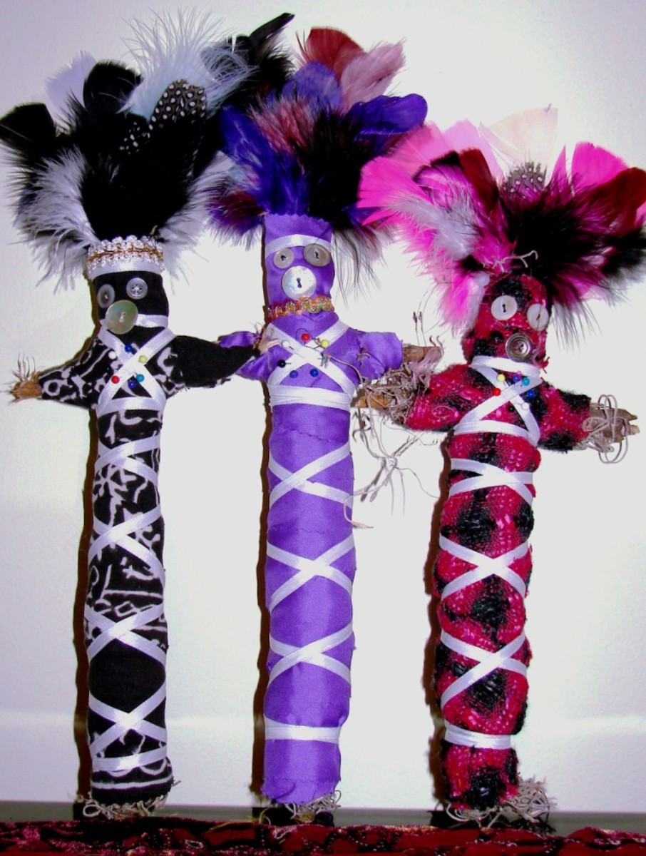Voodoo dolls are a useful tool in many kinds of magic.