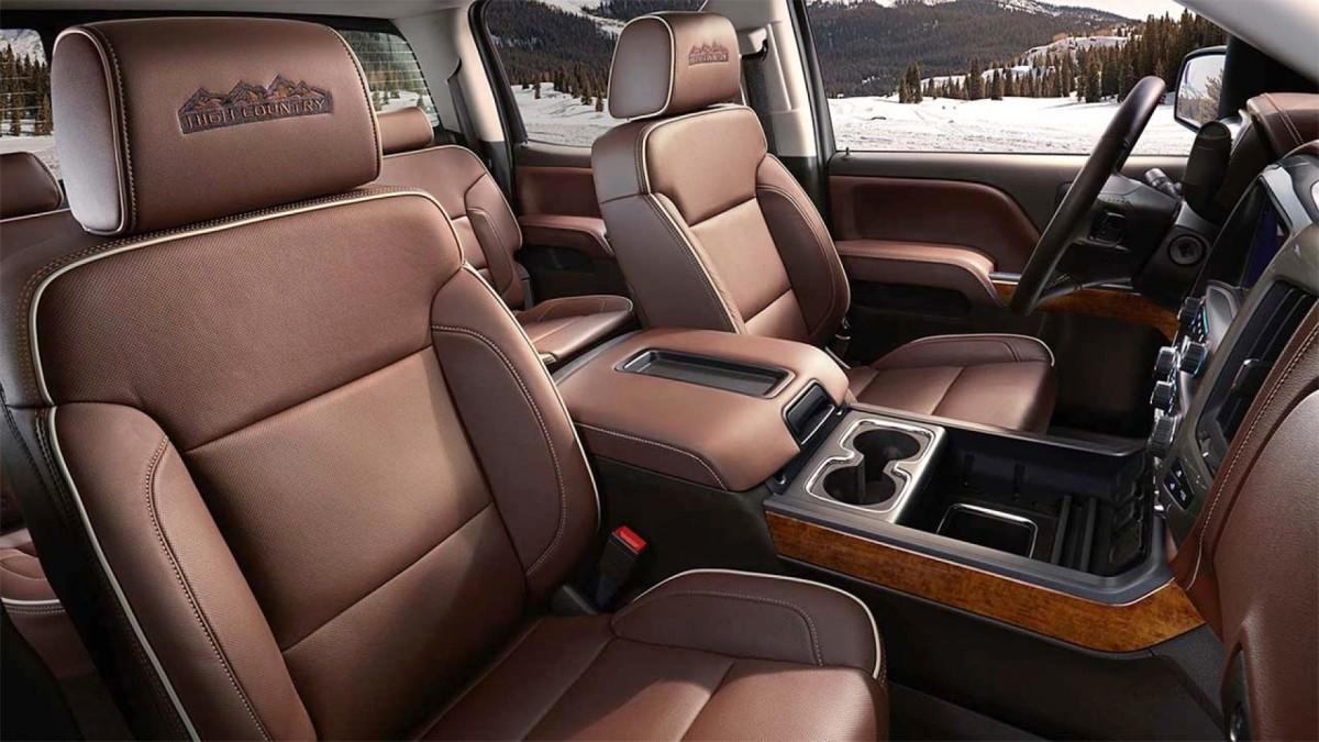 2015 Chevy Silverado High Country Interior