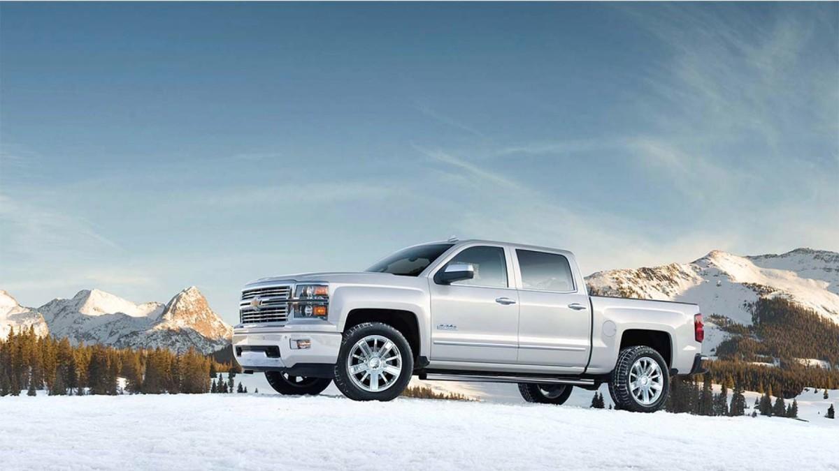 2015 White Diamond Chevy Silverado 1500 High Country