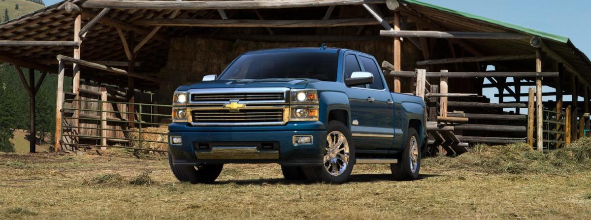 2015 Chevy Silverado High Country Blue