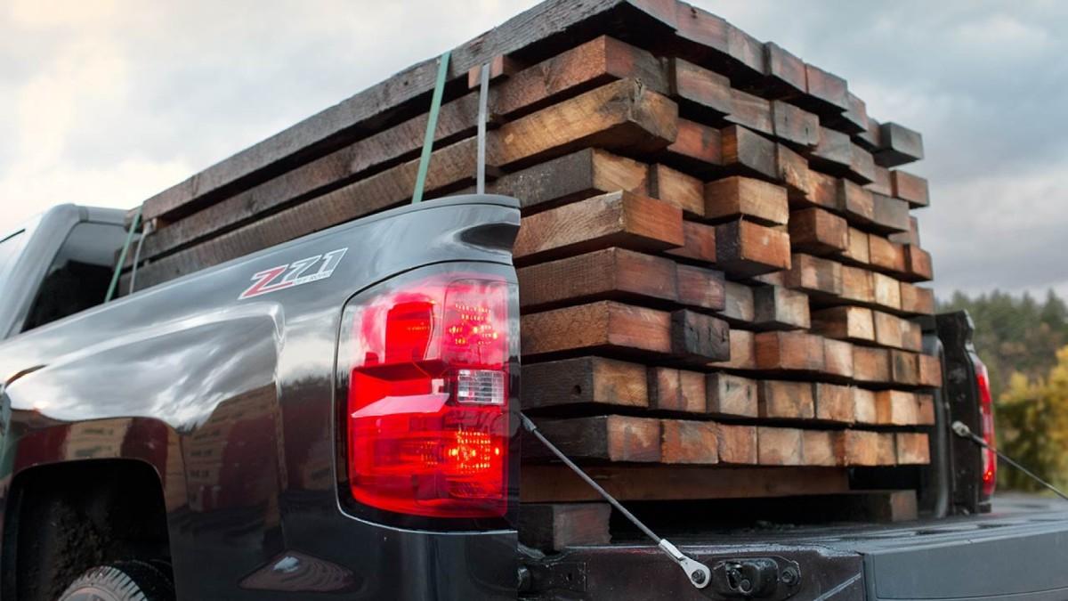 2015 Chevy Silverado LTZ Z71 Off-road bed