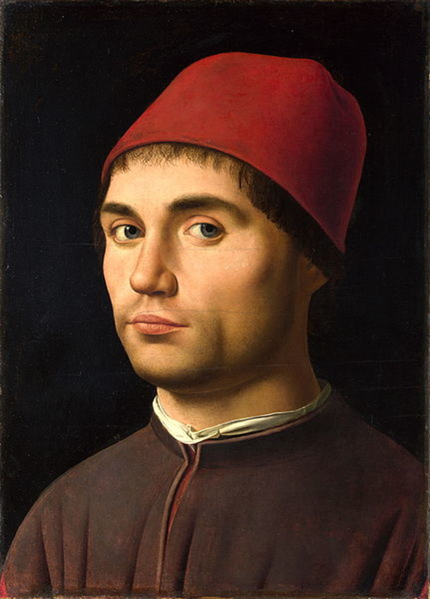 Antonello da Messina, Portrait of a Man (a. 1475), London National Gallery