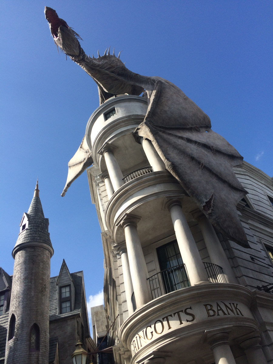 Harry Potter and the Escape From Gringotts Bank