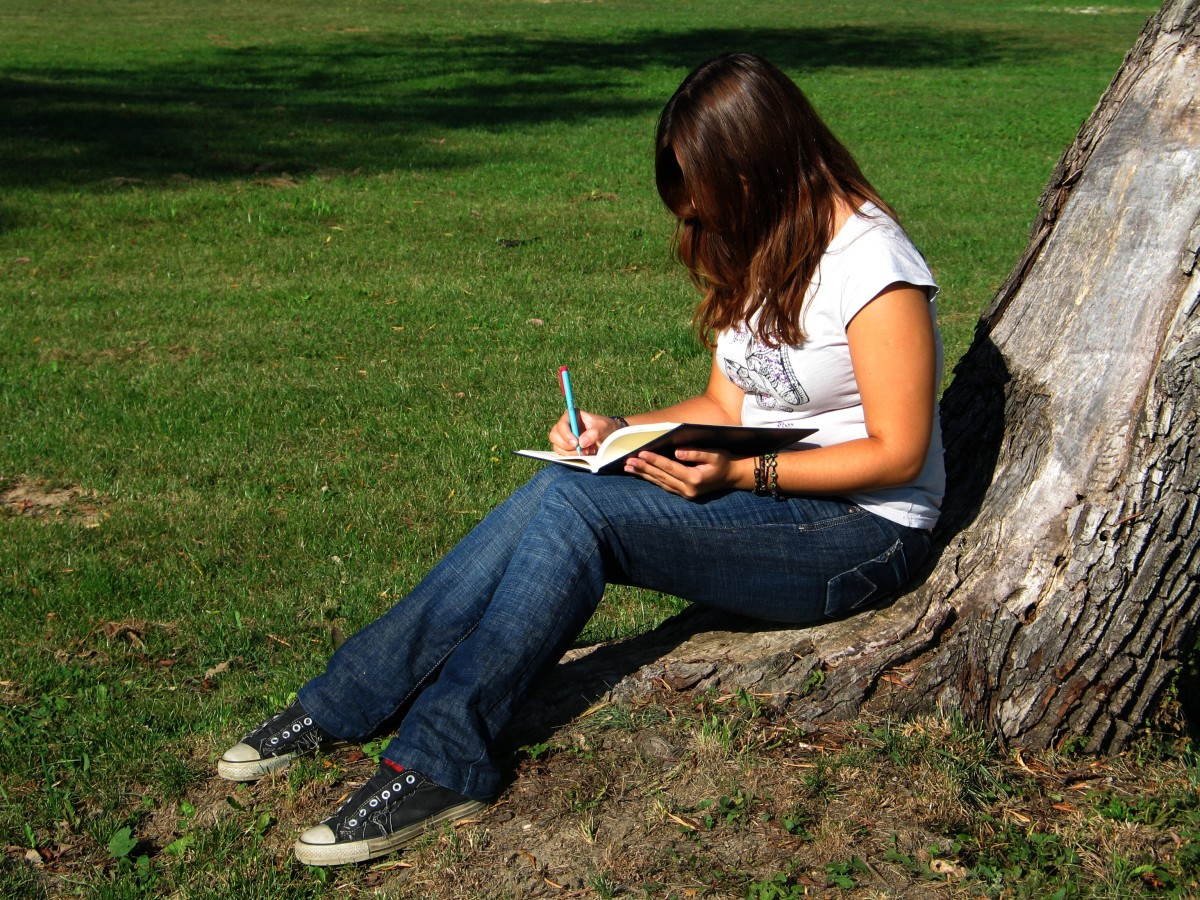 Writing in a Gratitude Journal is a personal matter-- you pick the time and place and how!