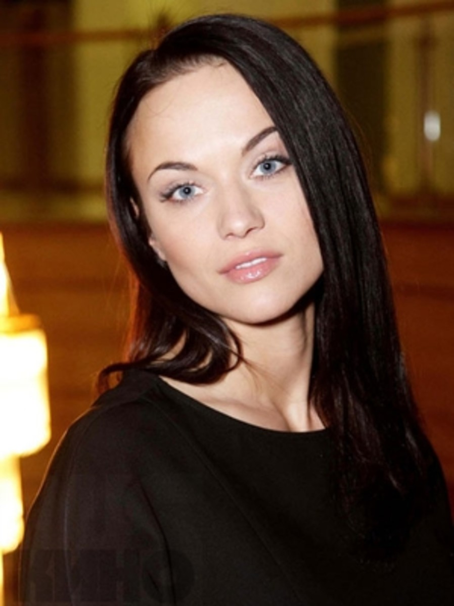 A captivating Russian TV and Film actress