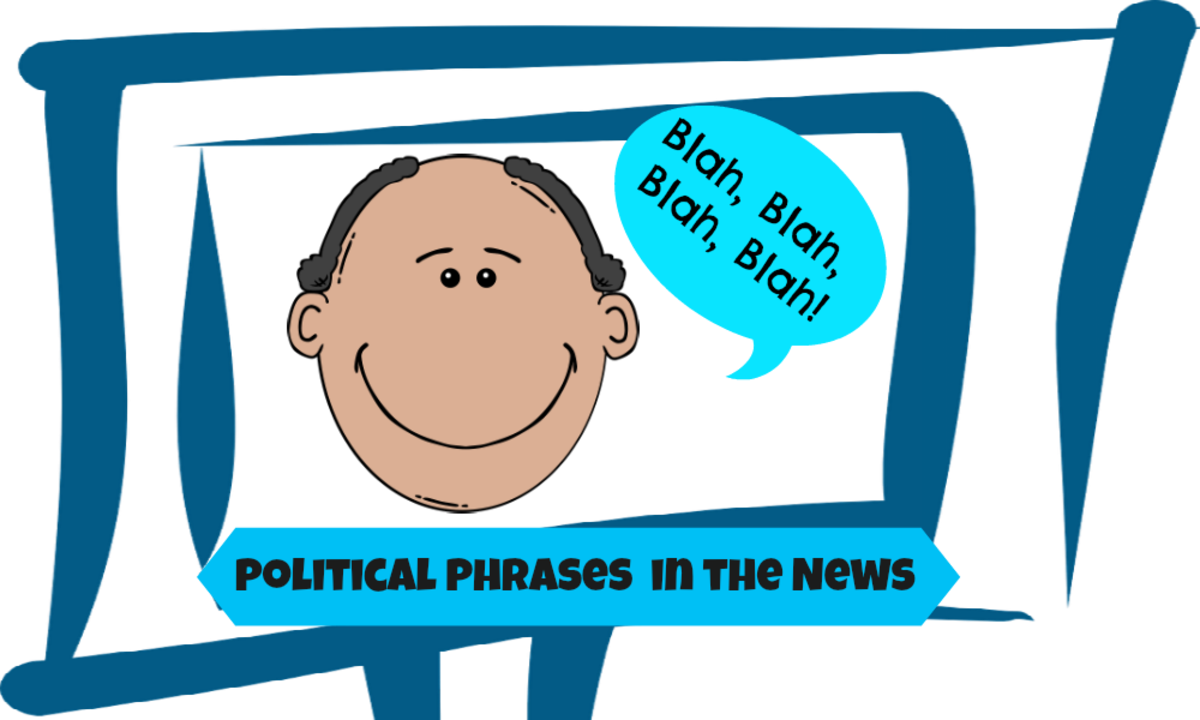 The television news is full of clichés and catchphrases.