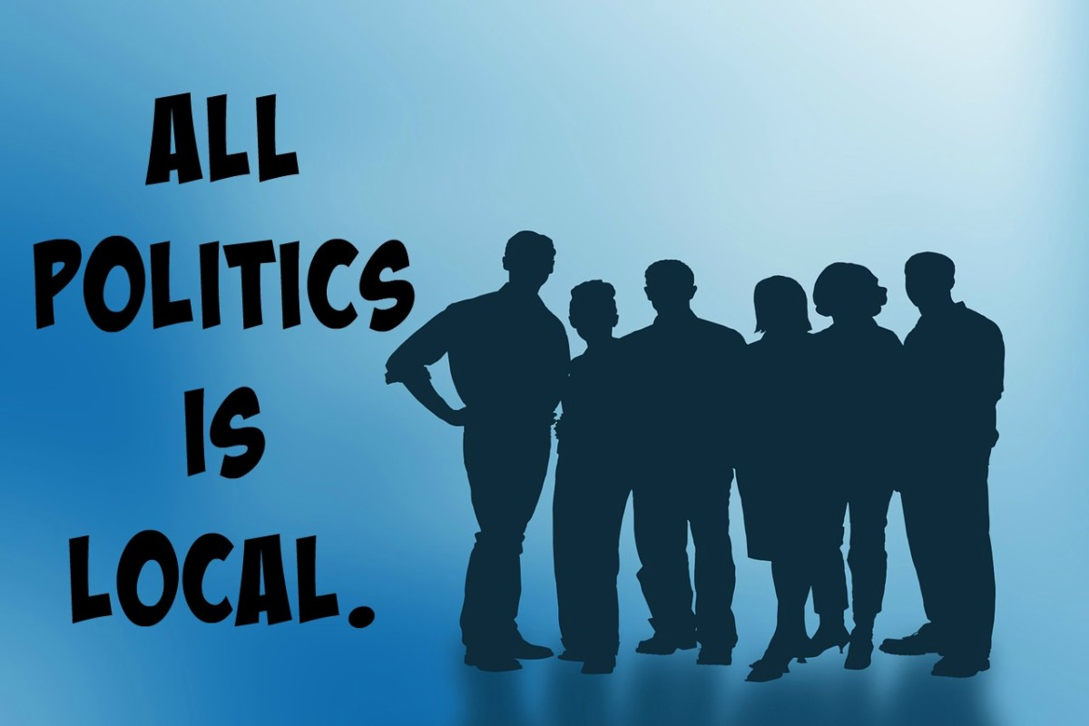 "If all politics is local, is politics about nothing more than ""What's in it for me?"""