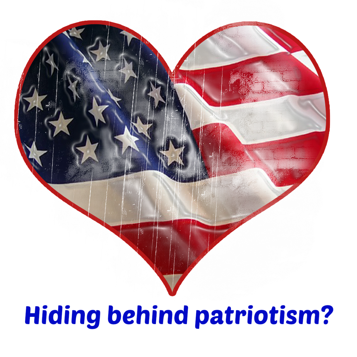 Do political scoundrels cloak themselves in the flag to hide their lack of rational argument?