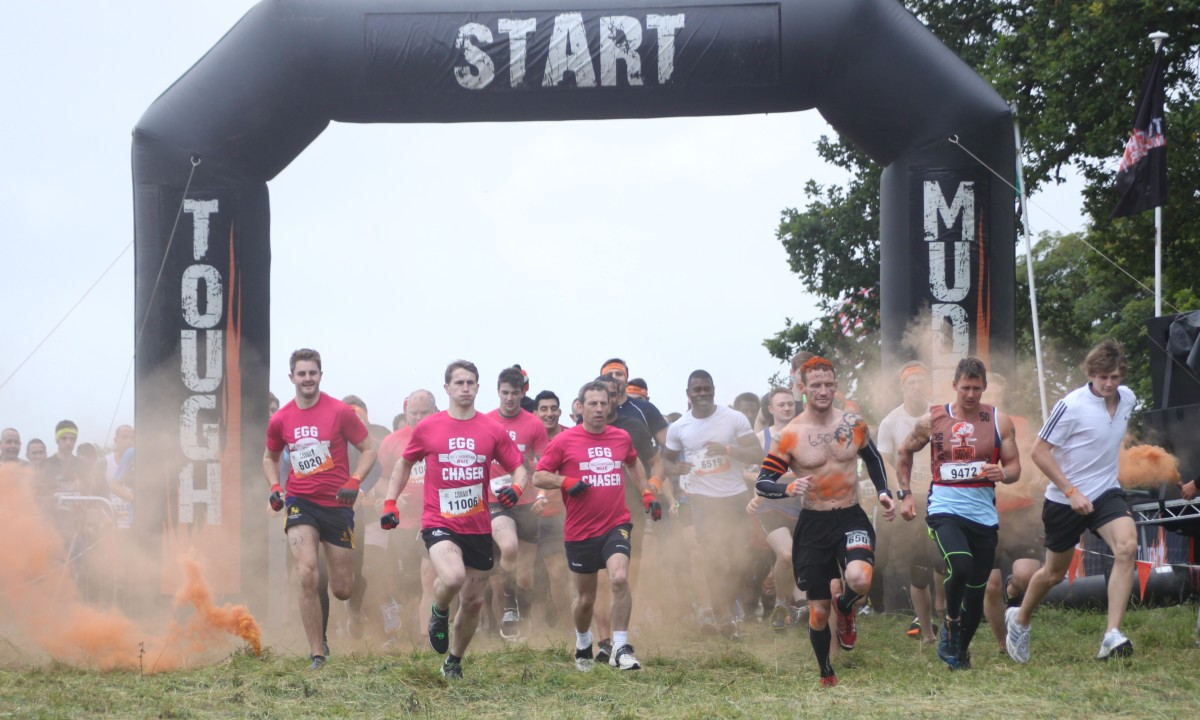 Are you ready for Tough Mudder? Do you have an awesome team name?