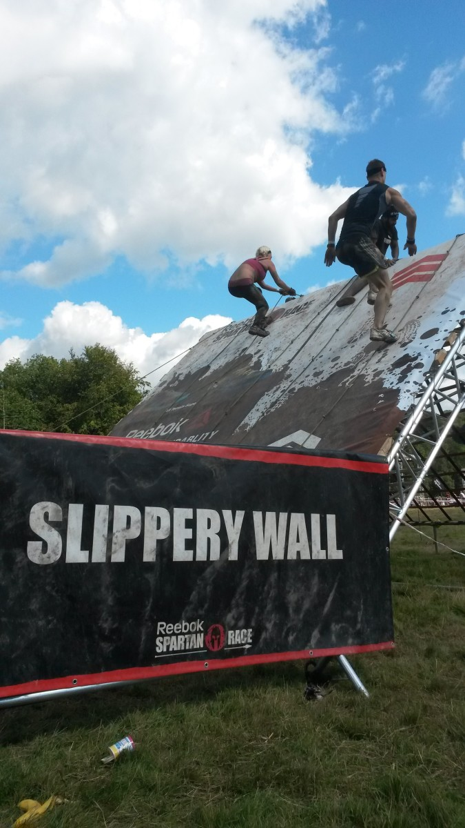 Can you scale the Slippery Wall with your team?