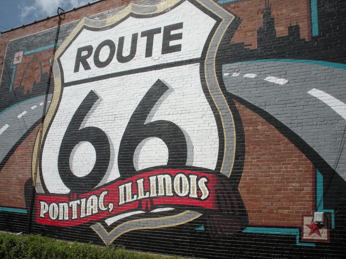 Wall mural - Pontiac, Illinois